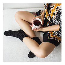 Obuv - Ponožky na nôžky - 9939989_