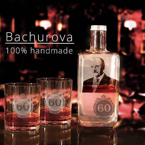 DARČEKOVÝ SET Fľaša a dva poháre na whisky