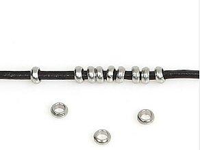 Komponenty - Krúžok strieborný 2,5 x 1, 0 mm - 9942156_