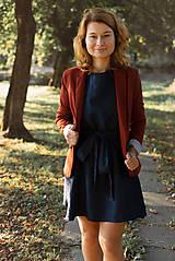 Šaty - miljö ľanové šaty - älskar - 9940847_