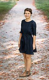 Šaty - miljö ľanové šaty - älskar - 9940850_