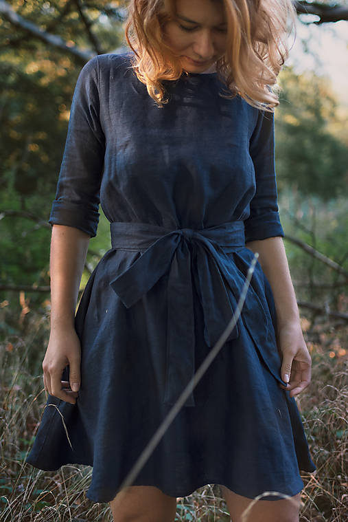 miljö ľanové šaty - älskar