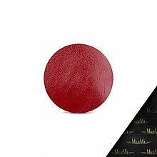 Na notebook - Kožený obal ZMEJSS - veľkosť A4 (Červená) - 9941336_
