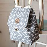 Batohy -  Mini batôžtek šedý