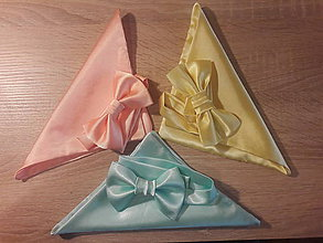 Iné oblečenie - Handmade motýliky - 9940219_