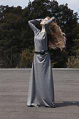 Šaty - TWINS - dlhé šaty - 9940125_