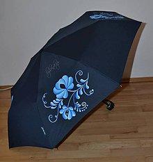 Iné doplnky - ručne maľovaný dáždnik- folk - 9938828_