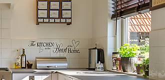 Dekorácie - Nálepky na stenu - Srdce kuchyne - 9940069_