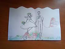 Darčeky pre svadobčanov - svadobný pozdrav 2 - 9939505_