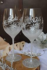 Nádoby - Svadobné poháre - 9943731_