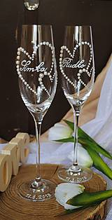 Nádoby - Svadobné poháre - 9943985_