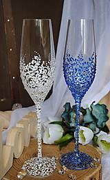 Nádoby - Svadobné poháre - 9944125_