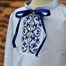Detské oblečenie - Detská modré srdce - 9942706_