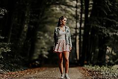 Sukne - Mini sukňa čičmanská červená - 9942446_