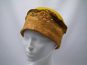 Čiapky - Vlnený klobúk Jeseň - 9943920_