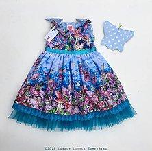 Detské oblečenie - Víly v Modrej záhrade - 9943360_