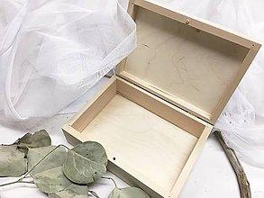 Krabičky - Drevená krabička rady do manželstva - 9943472_