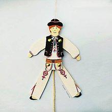 Hračky - Pohyblivé hračky v slovenských krojoch - II (na Vaše zelanie) - 9943176_
