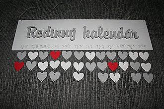 Tabuľky - Rodinný kalendár - 9945064_