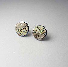 Náušnice - Tana šperky - keramika/platina - 9942810_