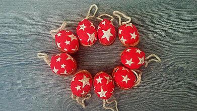 Dekorácie - Vianočná dekorácia - zlaté hviezdy !!AKCIA!! z 0,60 na 0,49 - 9944017_