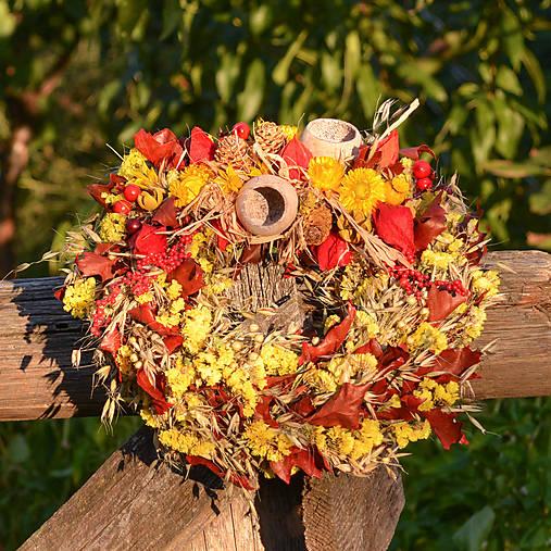 Jesenný prírodný venček