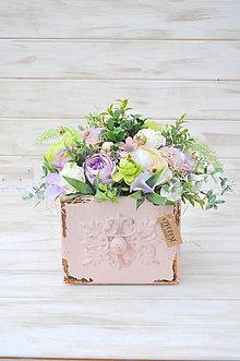 Dekorácie - celoročný dekorovaný šuflík, väčší - 9942979_