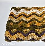 Úžitkový textil - deka-scandinavien style - 9943089_