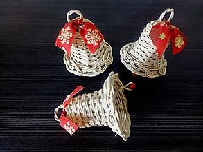Dekorácie - Vianočné zvončeky z pedigu - 9944227_