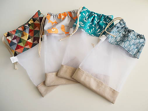 Iné tašky - Recyklovateľné vrecká do kuchyne - 9945575_