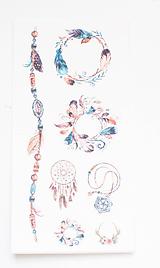 - Akvarelový set - nálepky