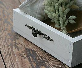 Krabičky - drevený šuflík / bednička - 9944442_