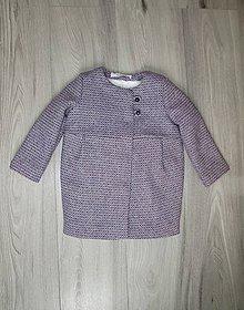 Detské oblečenie - Zateplený vlnený kabátik - 9945524_