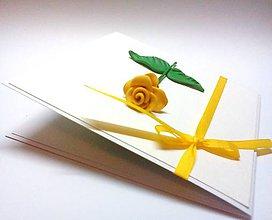 Papiernictvo - Pohľadnica ... Si ako ruža - 9948839_
