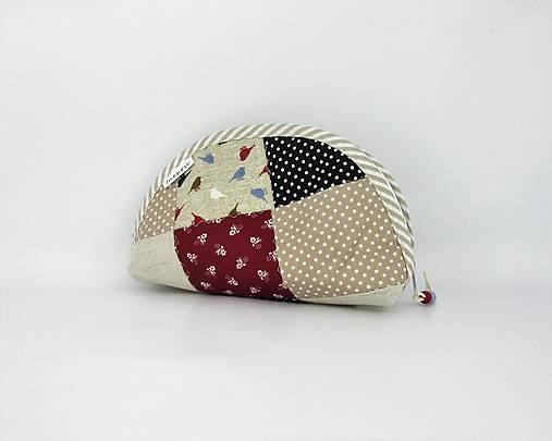 676b945f89 Kozmetická taštička patchwork s vtáčikmi   Ines.ru - SAShE.sk ...