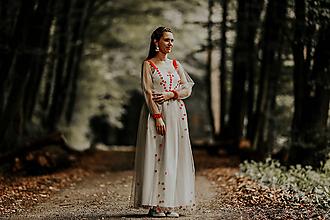 Sukne - Sivá sukňa Pod Tatrami - 9948912_