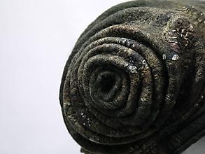 Čiapky - Čiapka zelená ako lesný mach, limitovaná kolekcia - 9949043_