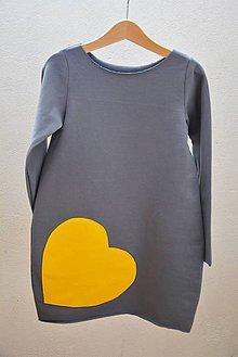 Detské oblečenie - Teplákové šaty/tunika Bealoo Bold 116, posledný kus!!! - 9948401_