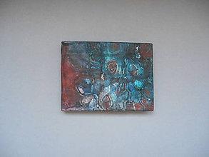 Papiernictvo - notes - ručne maľovaný - 9946937_