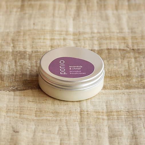 Levanduľa & chmeľ - prírodný kondicionér  (50ml, obal plast + hliník)