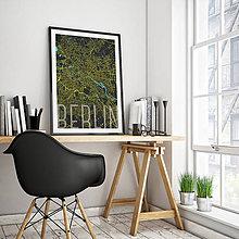 Obrazy - BERLÍN, elegantný, čierny - 9946439_