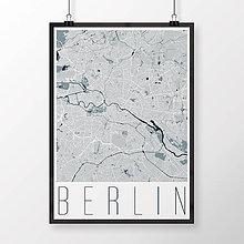 Obrazy - BERLÍN, moderný, svetlomodrý - 9948198_