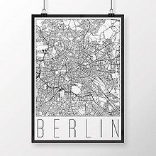 Obrazy - BERLÍN, moderný, biely - 9948258_