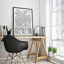 Obrazy - BERLÍN, elegantný, biely - 9948307_