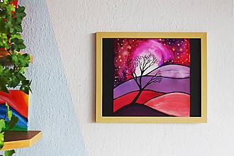 Obrazy - Ružové svety II. - 9949733_