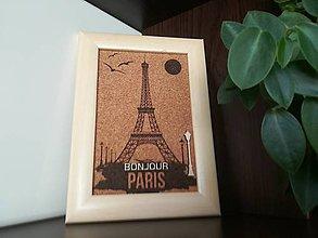 Obrázky - 3D obraz: Paríž (Biela) - 9947546_