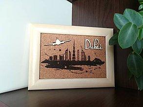 Obrázky - 3D obraz: Dubai (Biela) - 9948591_