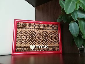 Obrázky - 3D obraz: Folk (Biela) - 9948722_
