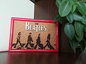Obrázky - 3D obraz: Beatles (Biela) - 9949437_