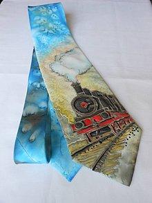 Doplnky - Maľovaná hodvábna kravata - podľa želania - 9946823_